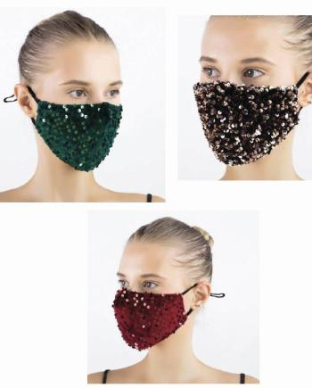 Macherei Sparkle Velvet Mask 3 Farben