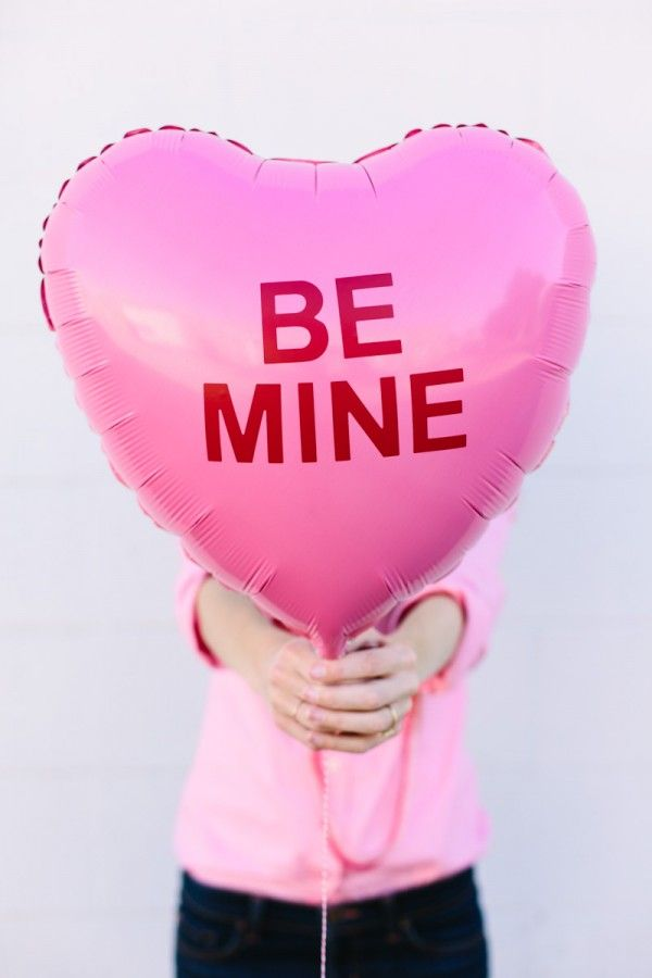 Folienballon Be Mine