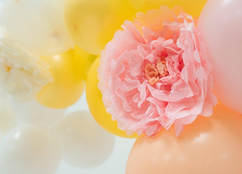 Ballongirlande Spring Flowers