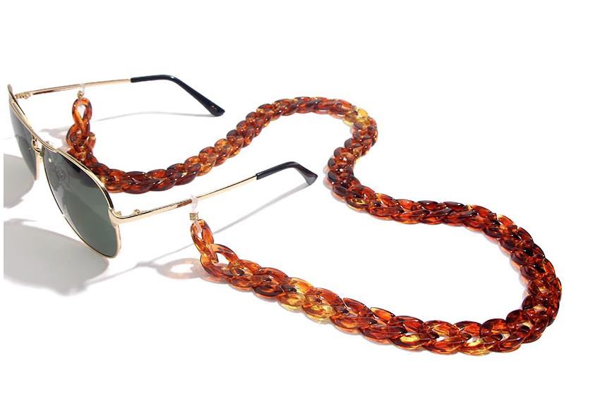 Brillenkette CHUNKY Caramel