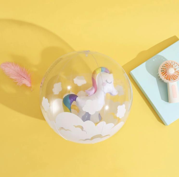 Wasserball Einhorn