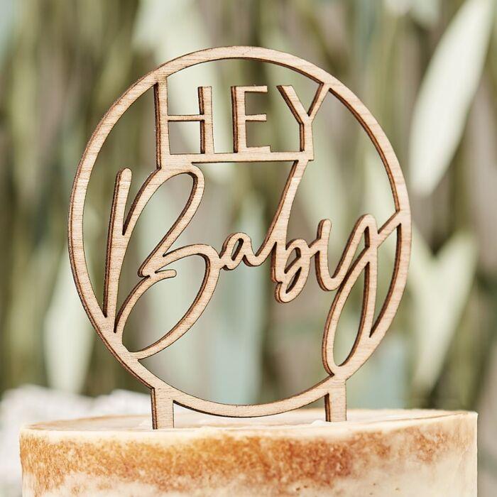 Caketopper Hey Baby