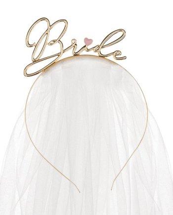 Haarreifen Bride mit Schleier