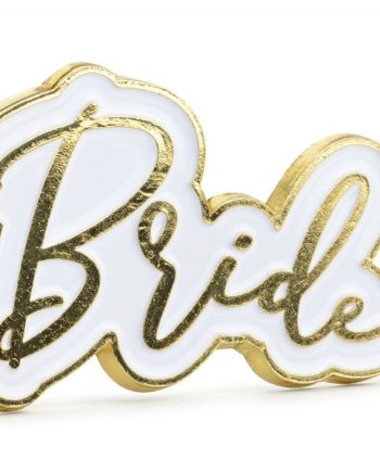 Emaille Pin Bride
