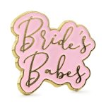 Emaille Pin Brides Babes