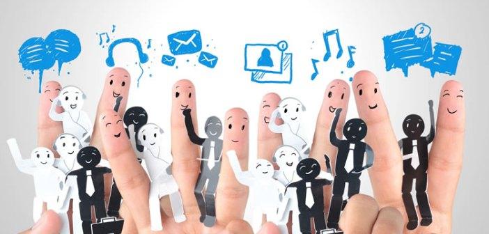 redes sociales empresa negocio