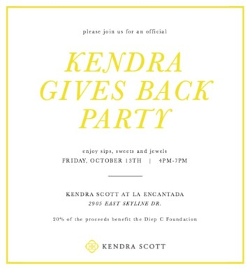 Kendra Scott October