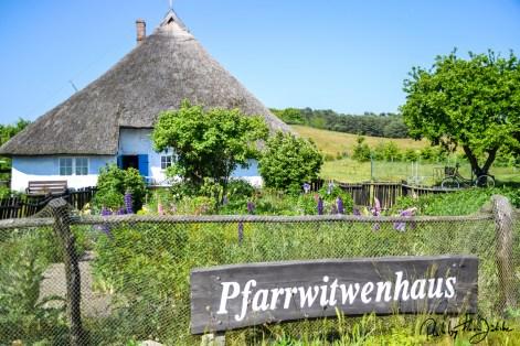 Das Pfarrwitwenhaus auf Mönchgut hat einen der schönsten Gärten Rügens. Foto: Flora Jädicke