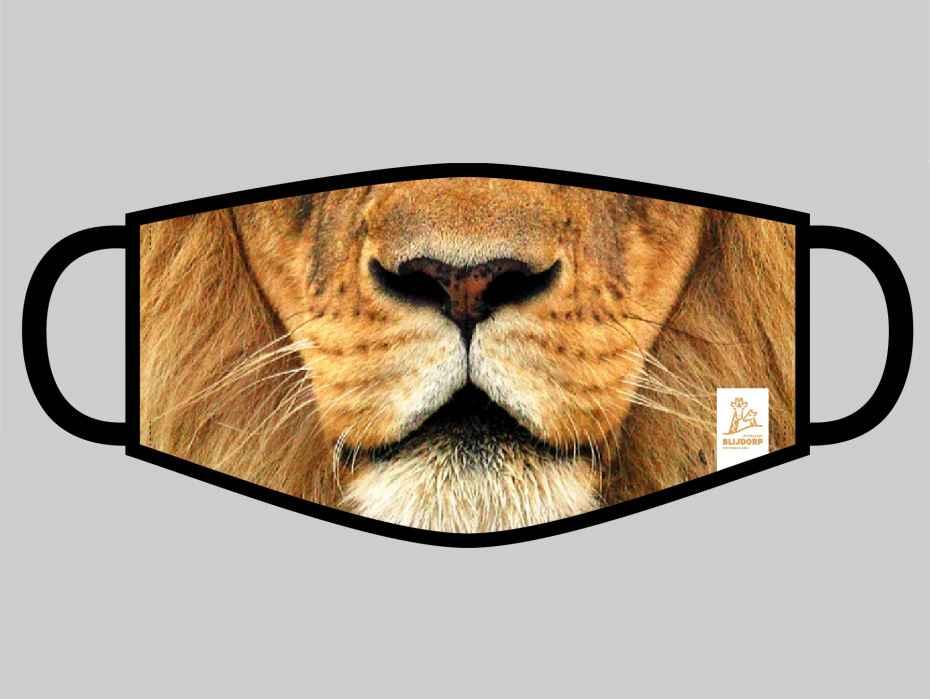 Blijdorp Mondkapje met leeuwensnuit