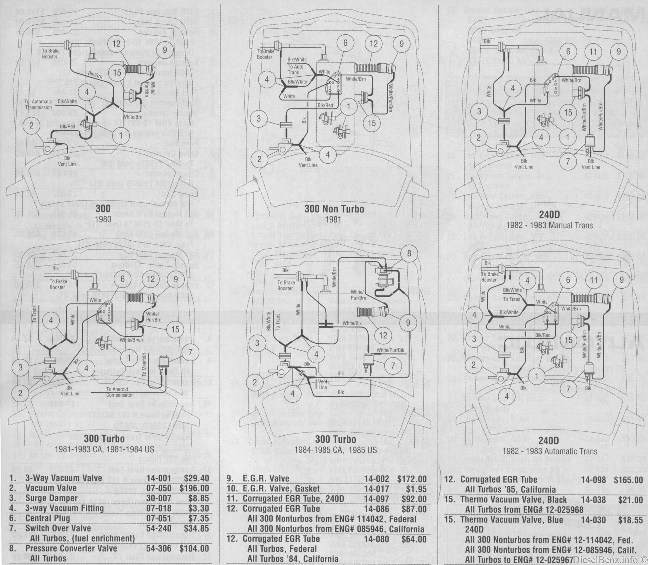 Mercedes Wiring Diagrams