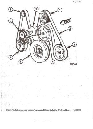 Belt routing diagram  Diesel Bombers
