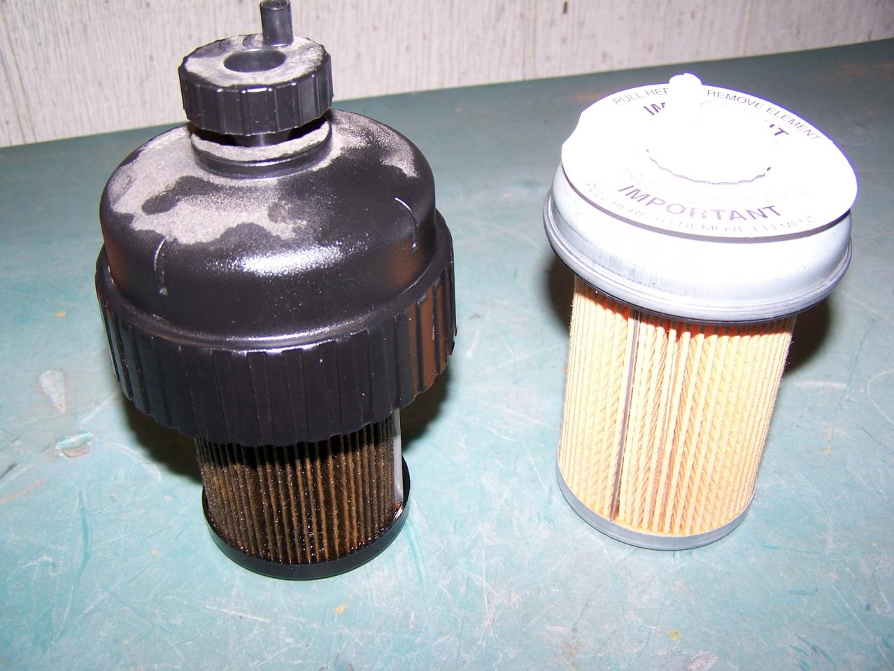 Fuel Filter Diff