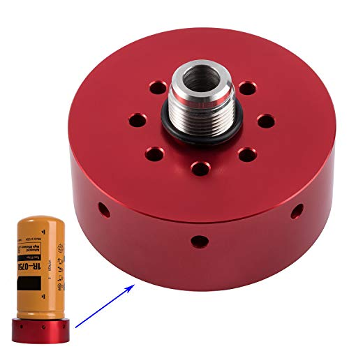 Red Bleeder Screw Fit for GM 2001-2017 Duramax Diesel Fuel Filter 6.6L Strong