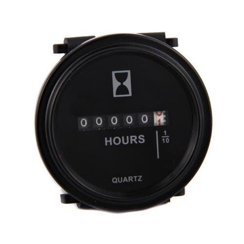 NEW 110V 120V Generator AC V Hz ACCUMULATING TIME WORKING TIME PANEL Meter Gauge