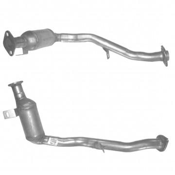 catalytic converter or diesel particulate filter