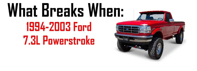 ford 7 3l powerstroke diesel