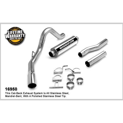 magnaflow 17878 4 custom builder turbo back exhaust 99 03 7 3l ford powerstroke