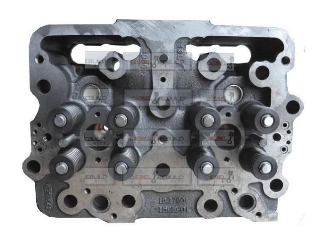 Cylinder Head | Cummins N14 E | 3411817RX | Diesel Rebuild Kits
