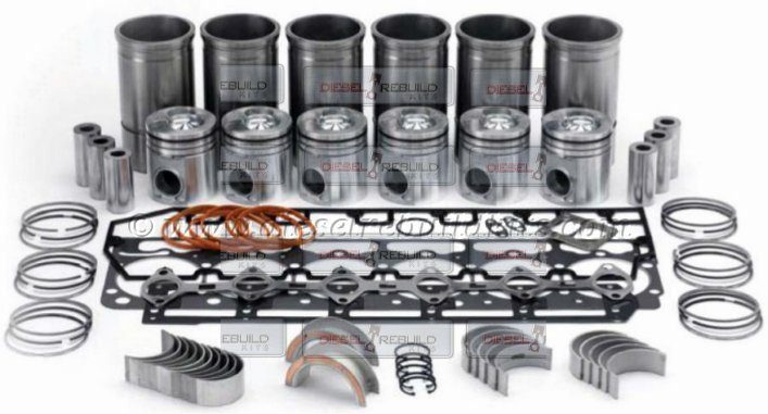 In Frame Overhaul Rebuild Kit Navistar DT530E Engine 00 04 300 HP