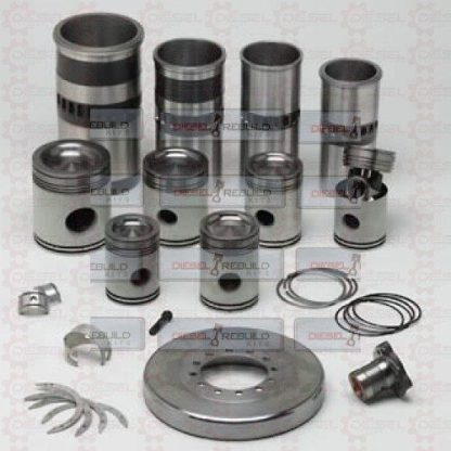 Detroit Diesel Two Cycle Parts Spread