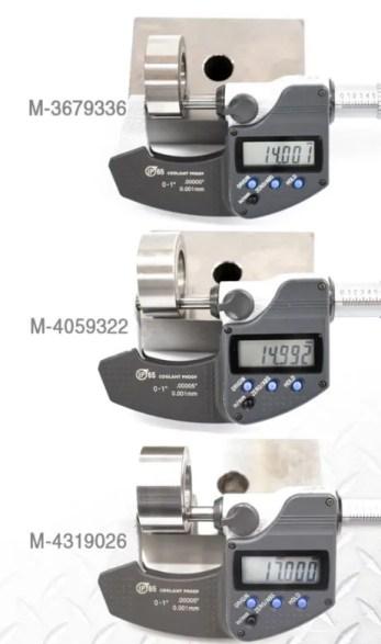 Cummins ISX / QSX Pin & Roller Size Measurements