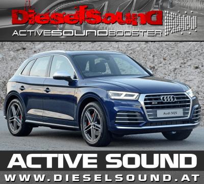 ActiveSoundBooster für Audi Q5 (FY) TDI/TFSI inkl. Einbau & App-Control