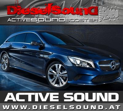 ActiveSoundBooster für Mercedes CLA inkl. Einbau & App-Control