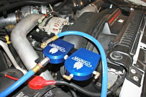 Installing the oil and coolant filtration kit Sinister Diesel 60L Power Stroke   Diesel Tech