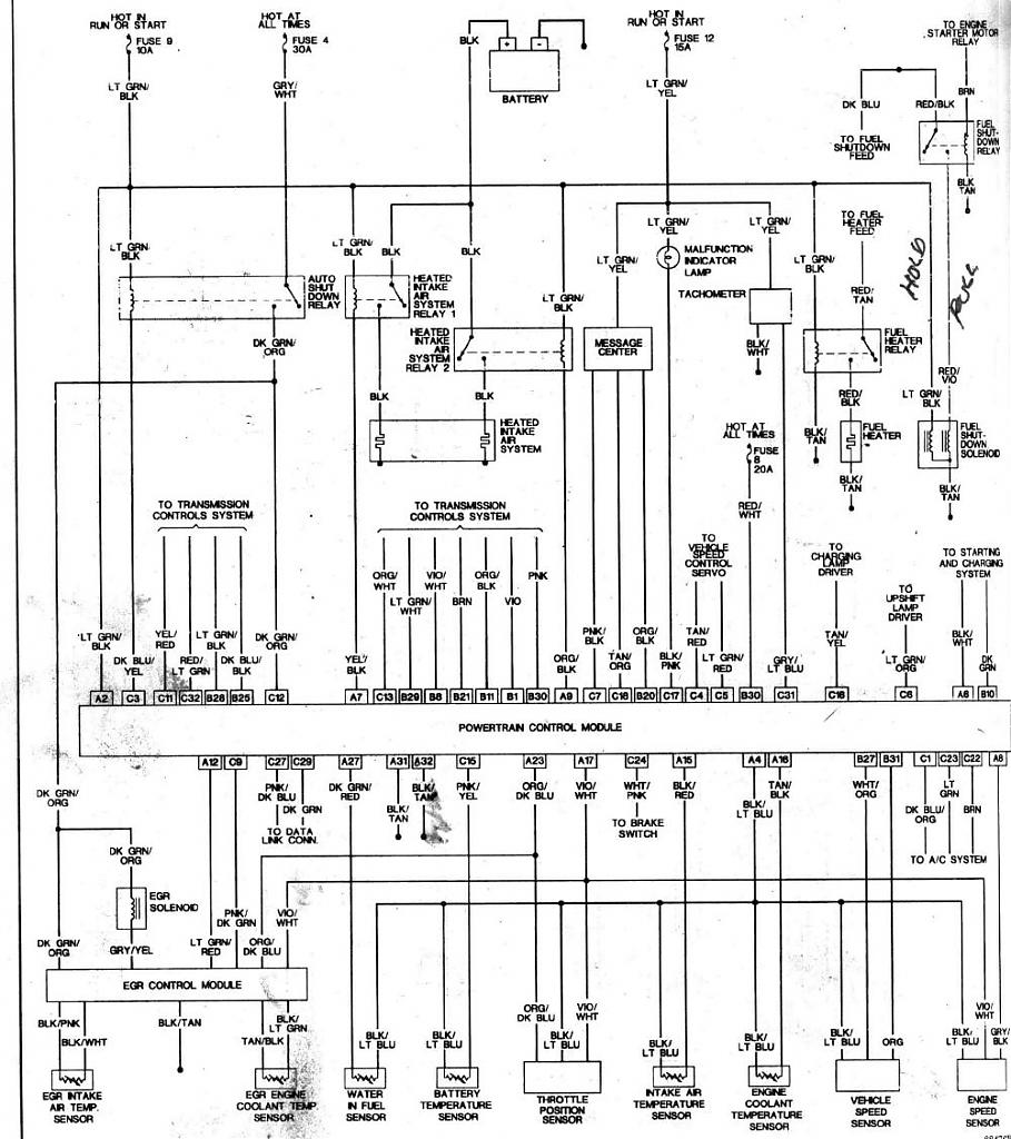 Colorful Dodge Truck Wiring Diagram Crest - Electrical System Block ...