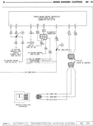 FSM Wiring Diagram Needed 1990 W250  Dodge Diesel