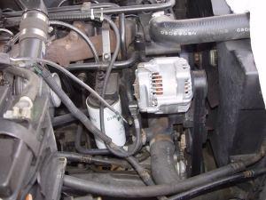 Leece Neville Alternator on a 6BT Cummins  Dodge Diesel