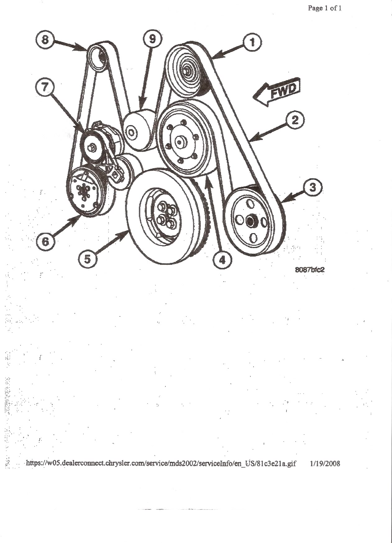 6 0 Engine Diagram Belt