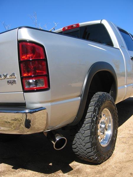 best exhaust tip dodge diesel