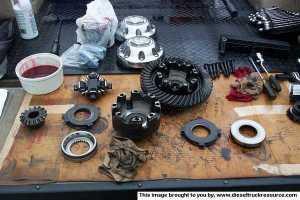 Replaced Clutches in Dana 70 Differential  Dodge Diesel  Diesel Truck Resource Forums