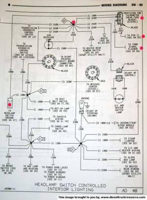 OEM Tach wiring diagram  Dodge Diesel  Diesel Truck