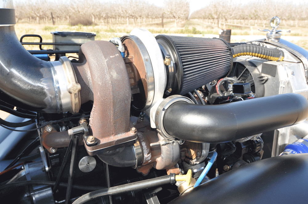 Larry Strawn's 800-hp Ford Model A