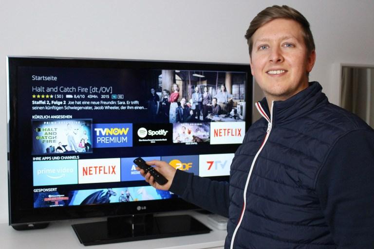 Timo Amazon Fire TV Steuerung