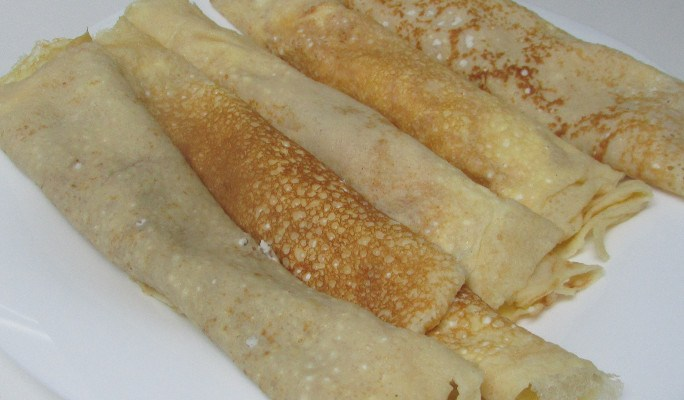 Filloas (de leche)