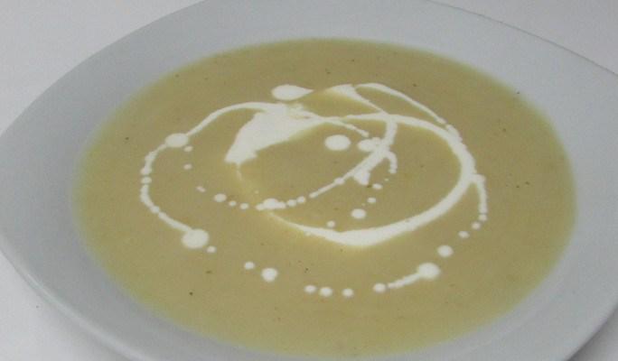 Crema parmentier (de patata y puerro)