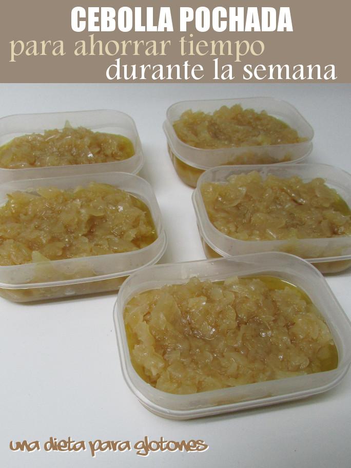 Dieta de la cebolla ingredientes