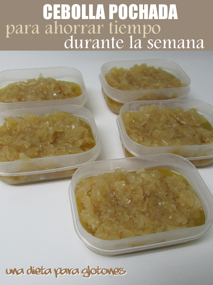 Cebolla pochada (convencional o slow cooker)