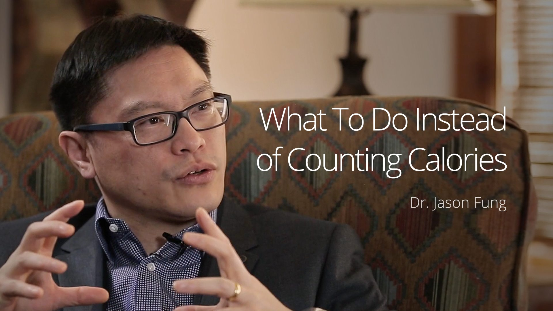 What To Do Instead of Counting Calories – Dr. Jason Fung (Interview 2 Vail 2016)