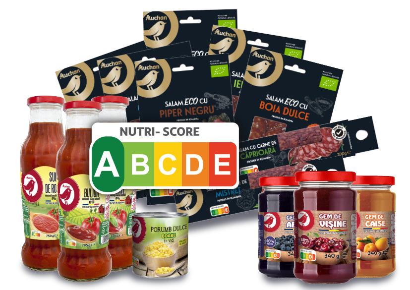 Auchan - Nutri-Score eticheta