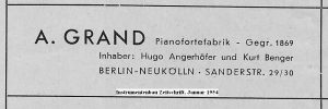 Grand Reklame 1954