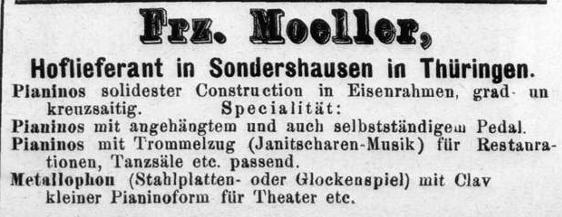 Moeller, Anzeige