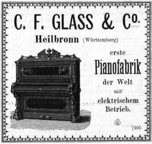 Anzeige Glass 1892