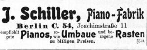 Schiller 1907