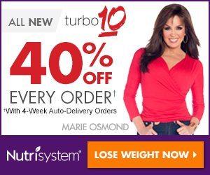 New Nutrisystem Turbo 10