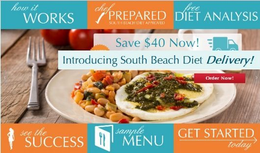 South Beach Diet Delivery Service 40% Off and Free Shipping