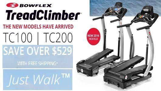 New Treadclimbers Free Shipping
